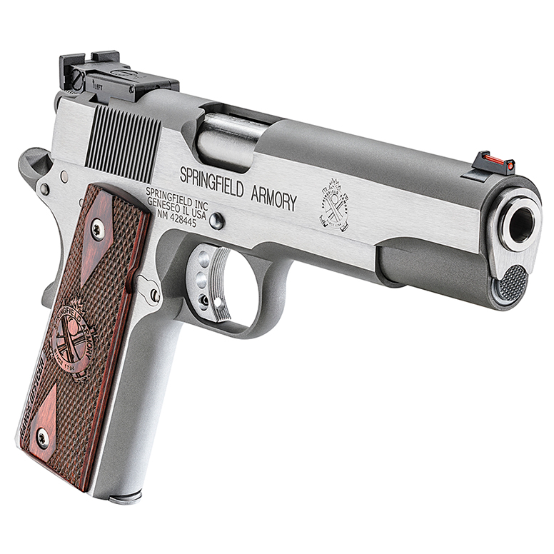 Springfield Armory Model 1911-A1 Range Officer 9mm Handgun, Stainless Steel