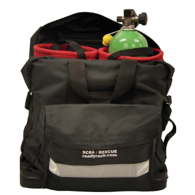 Groves SCBA Bag with Two 20-Minute Low-Profile Bottle Inserts