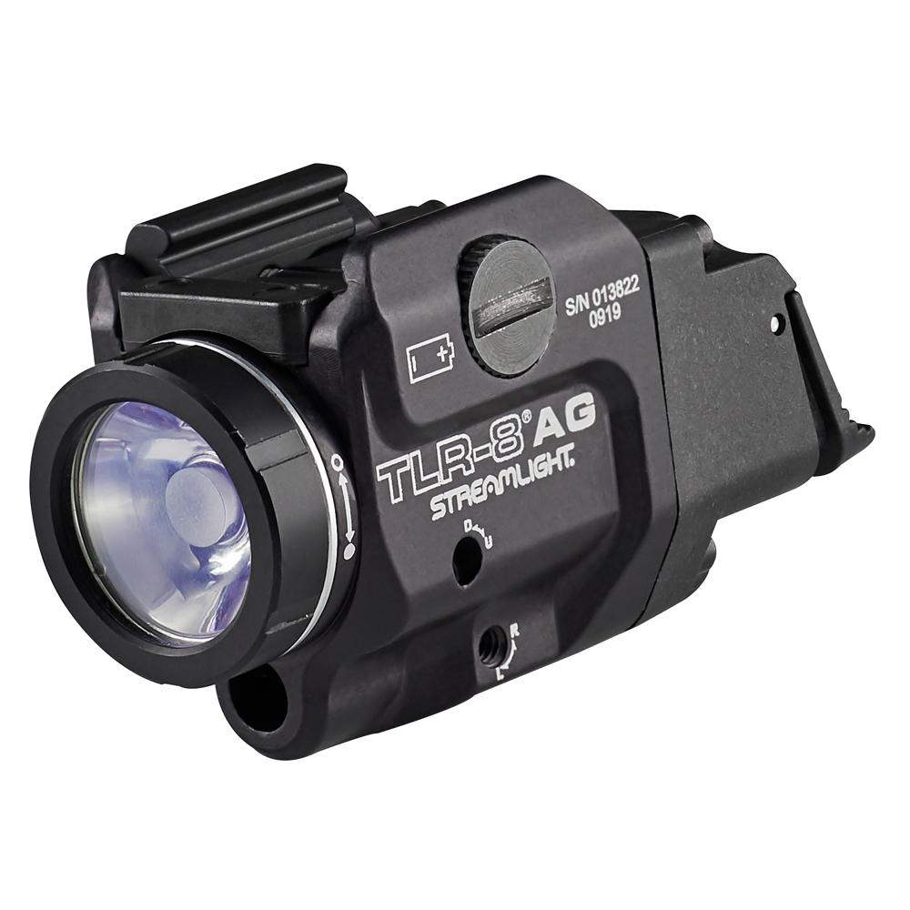 Streamlight TLR-8AGL Low Profile Rail Mounted Low Switch Tactical Light with Green Laser