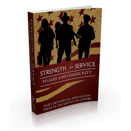Strength for Service to God and Community Daily Devotional Book