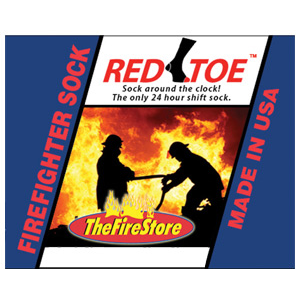 TheFireStore Exclusive RED TOE X-Static Endurance 9