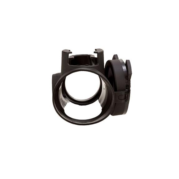 Trijicon MRO (Miniature Rifle Optic) Slip-On Cover in Black w/ Clear Lens Caps