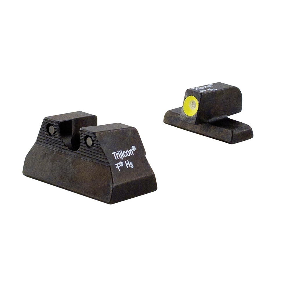 Trijicon H&K USP Compact HD Night Sight Set w/ Yellow Front Outline