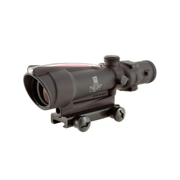 Trijicon ACOG 3.5x35 Scope, Dual Illuminated Red Crosshair .308 Ballistic Reticle w/TA51 Mount