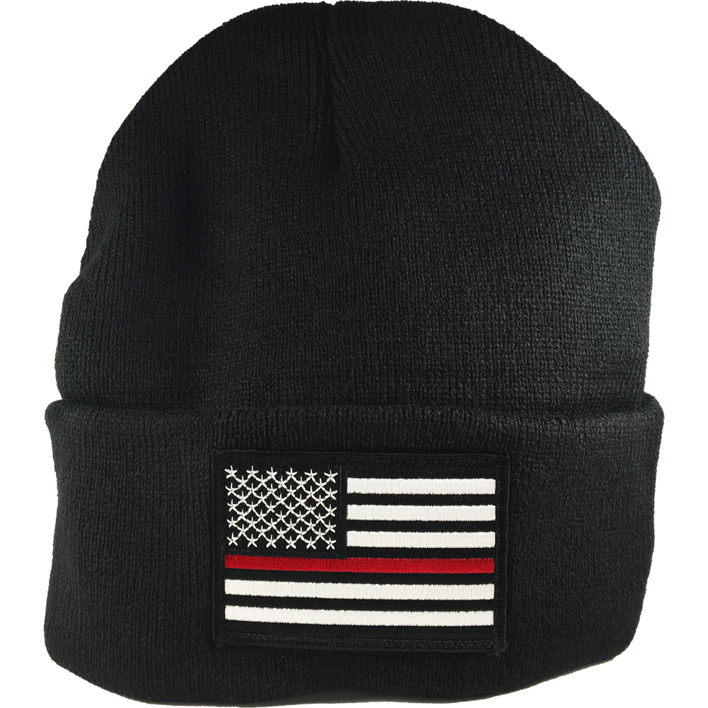 Exclusive Thin Red Line Beanie