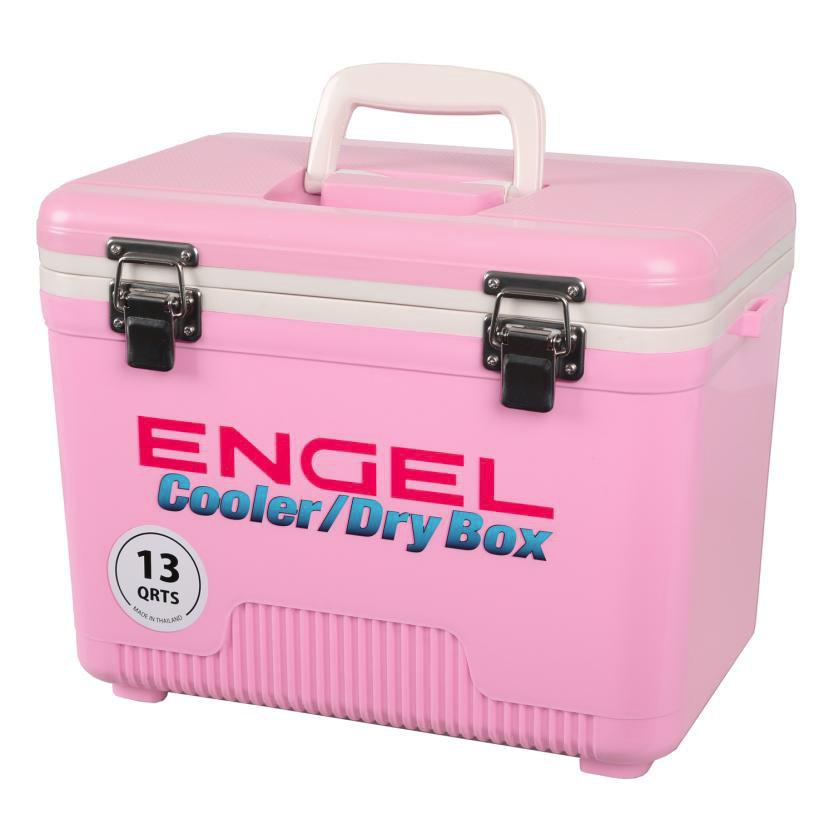 Engel 13 Quart Pink Cooler/Dry Box