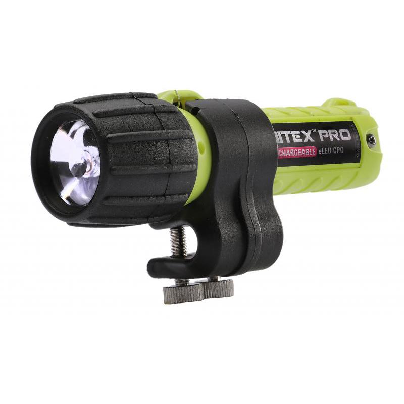 Underwater Kinetics Nitex Pro eLED� Rechargeable Class 1 Div 2 Flashlight, 90 Lumens
