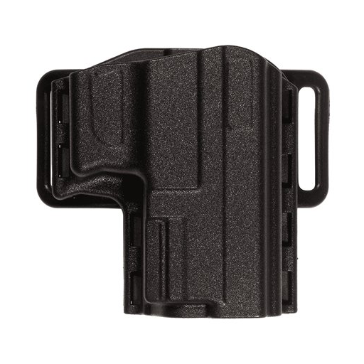 Uncle Mike's Reflex Holster with Paddle, Belt Loop, Black, Right Hand