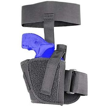Uncle Mike's Ankle Holster, Black Cordura