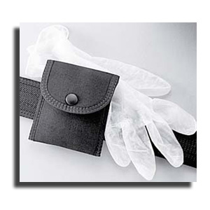 Uncle Mike's Single Latex Glove Pouch, Black