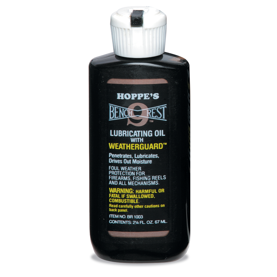 Hoppe's Bench Rest Lubricating Oil with Weatherguard
