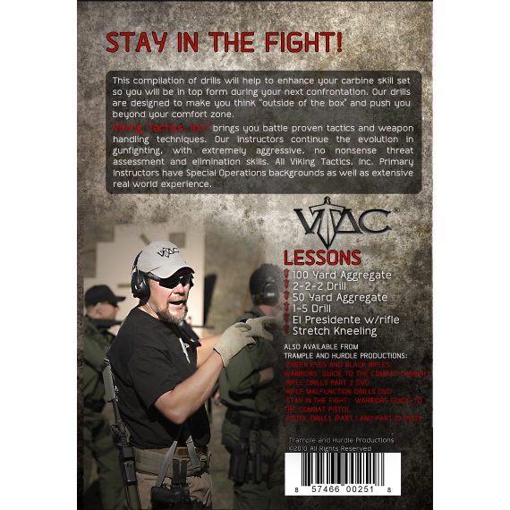 Viking Tactics Rifle Drills Part I DVD