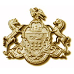 Exclusive PA Coat of Arms Cap Badge