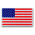 American Flag Reflective Scotchlite Decal