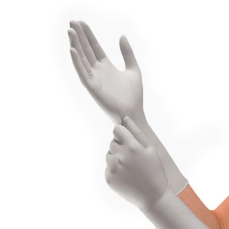 Halyard Health KC300 X-TRA Disposable Nitrile Gloves, Sterling