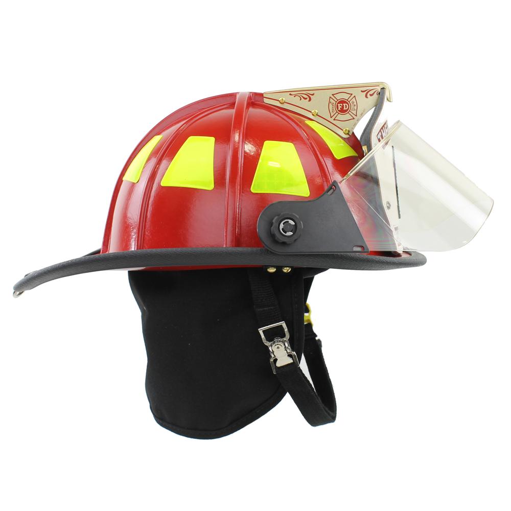Cairns 1044 Helmet, Red, NFPA, OSHA