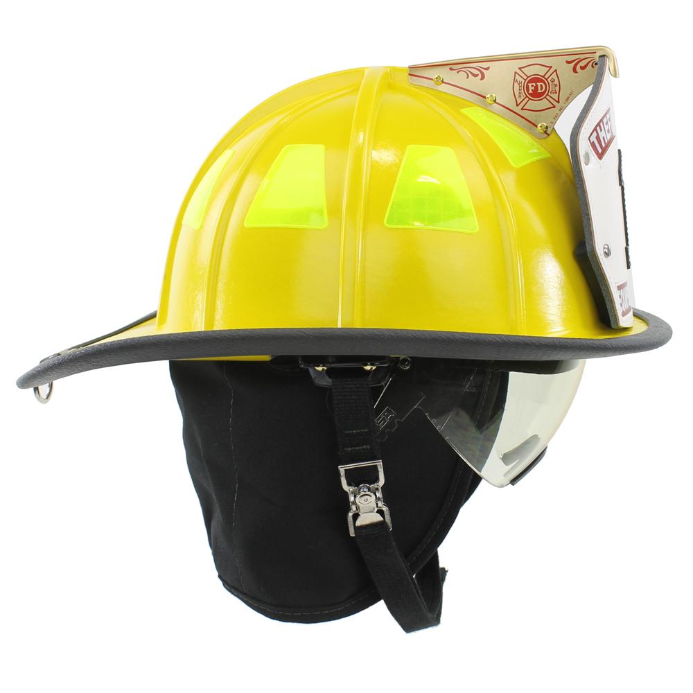 Cairns 1044 Helmet, Yellow, NFPA, OSHA