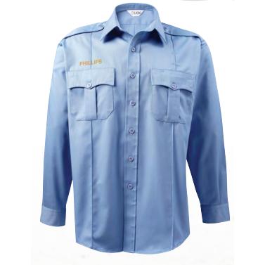 Lion StationWear Bravo Series Polyester/Cotton Plain Weave L/S Shirt