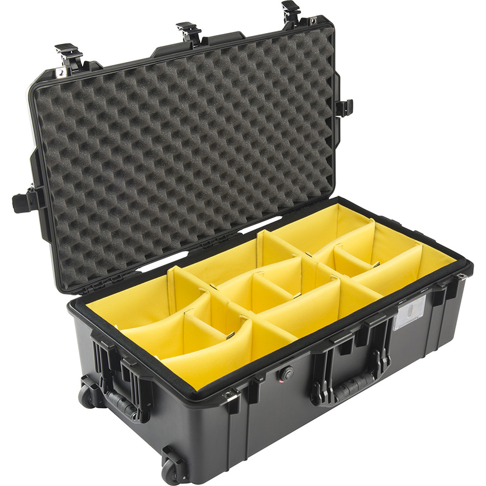 Pelican Wheeled Check-In Air Case, Model 1615, Black