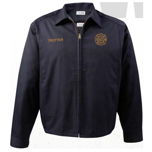 Lion StationWear Action Line Jacket, Navy