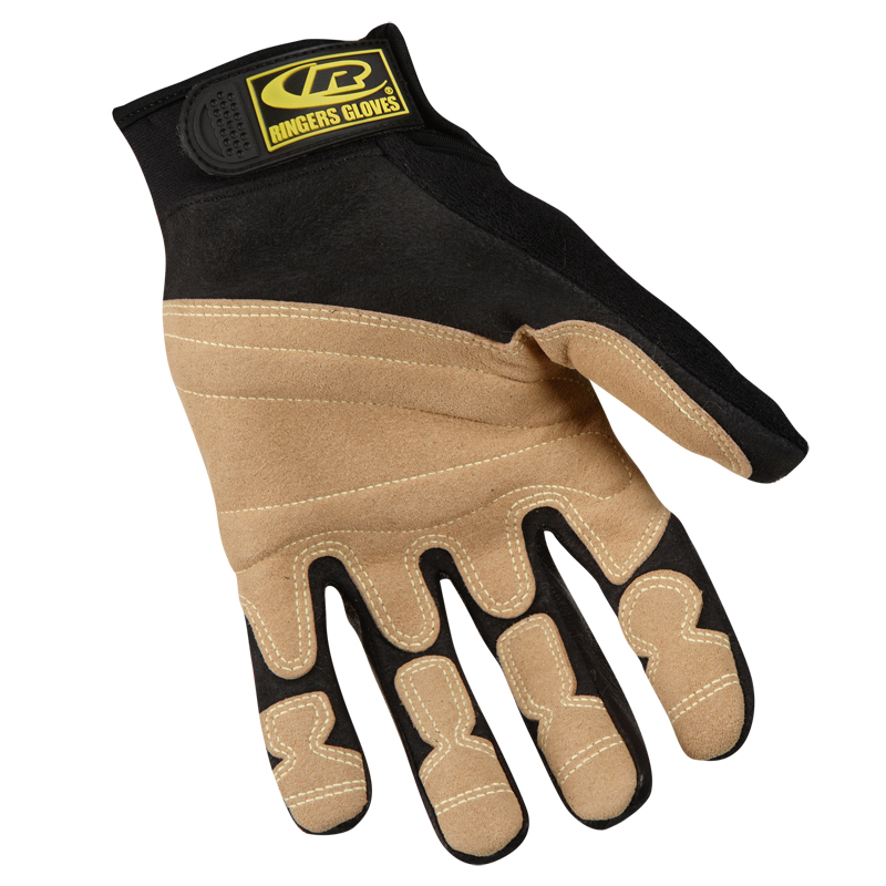 Ringers Rope Rescue Gloves, Red