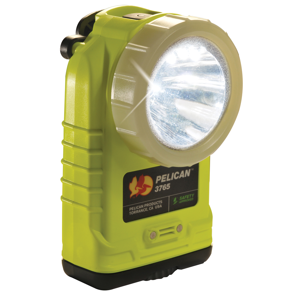 Pelican 3765 Right Angle Rechargeable LED Flashlight, NiMH Battery Pack, 237 Lumens, 5.36� Long