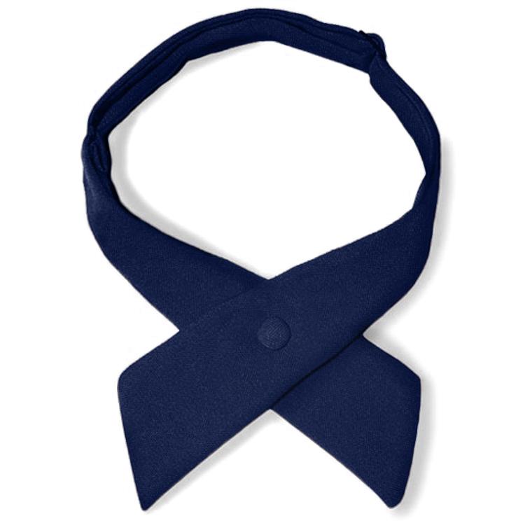 Samuel Broome: Poly/Wool Women's Crossover Tie