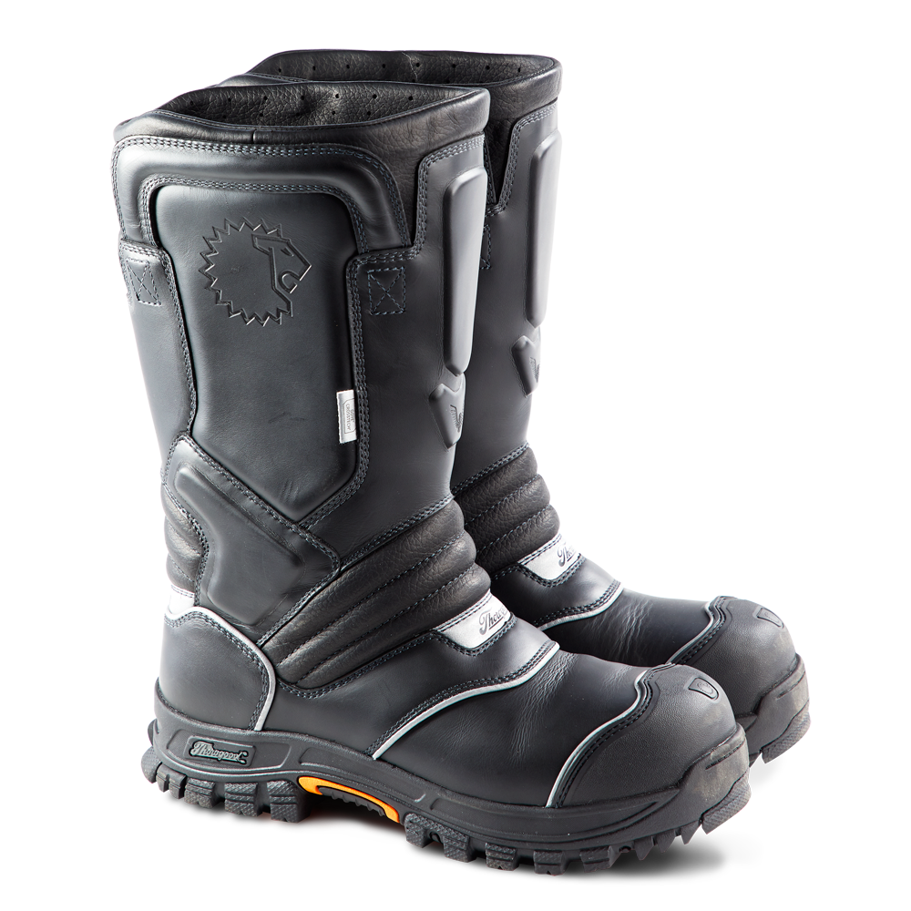 """LION by Thorogood Women's QR14 14"""" Structural Bunker Boot"""
