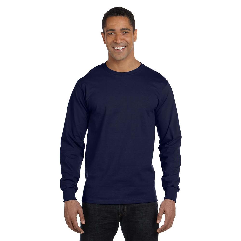 Hanes Long Sleeve Beefy T-Shirt