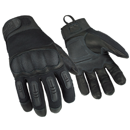 Ringers Flame Resistant Heavy Duty Leather Gloves with Hard Knuckles