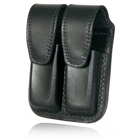 Boston Leather Double Magazine Pouch, 9mm or .40 Cal.