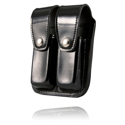 Boston Leather Double Mag Pouch for 45mm