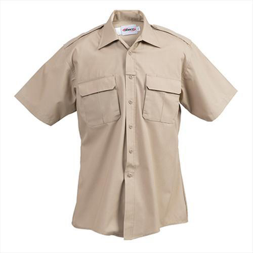 Elbeco Men's ADU Short Sleeve RipStop Shirt