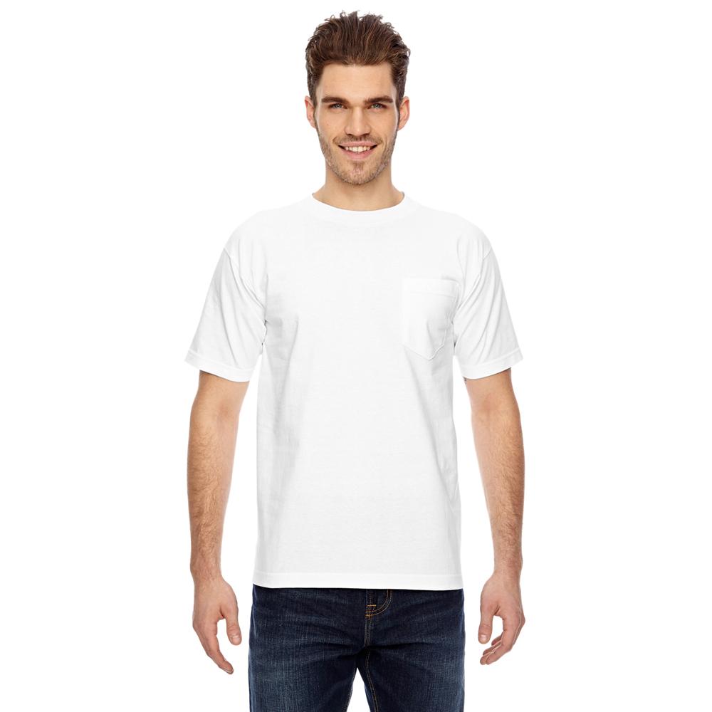 Bayside Short Sleeve T-Shirt with Pocket