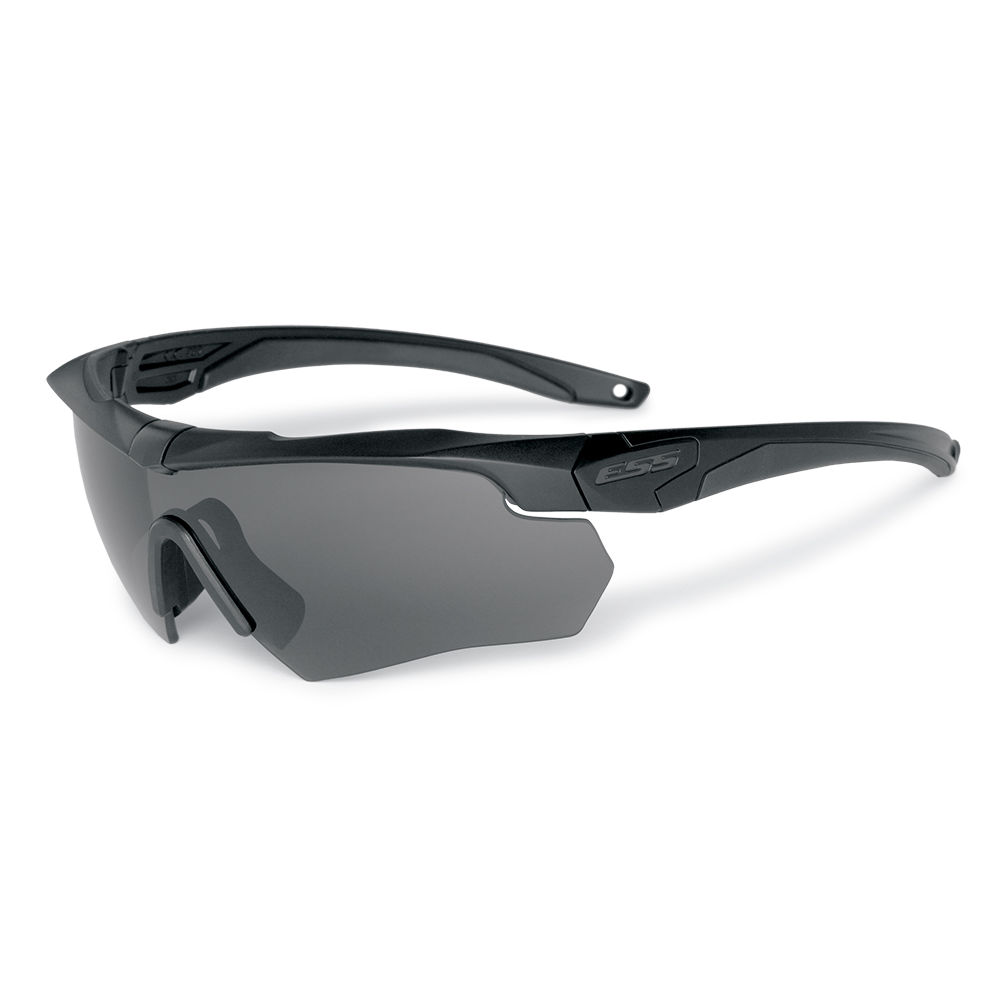 ESS Crossbow ONE, Black Frame with Interchangeable Smoke Gray Lens
