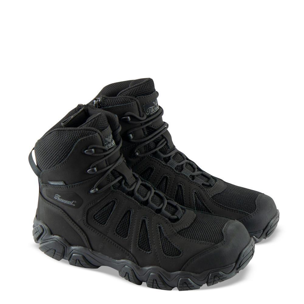 Thorogood Crosstrex Series – Safety Toe Side Zip BBP Waterproof 8″ Hiker