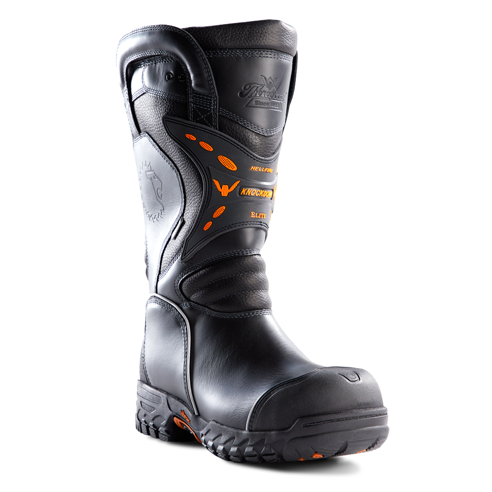 """LION by Thorogood 14"""" Knockdown Elite Structural Bunker Boot, NFPA"""