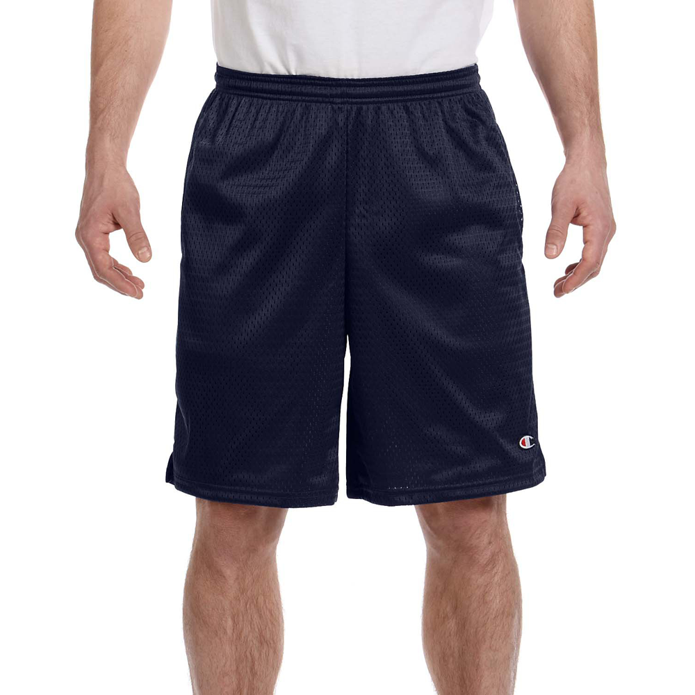 Champion Long Mesh Shorts with Pockets