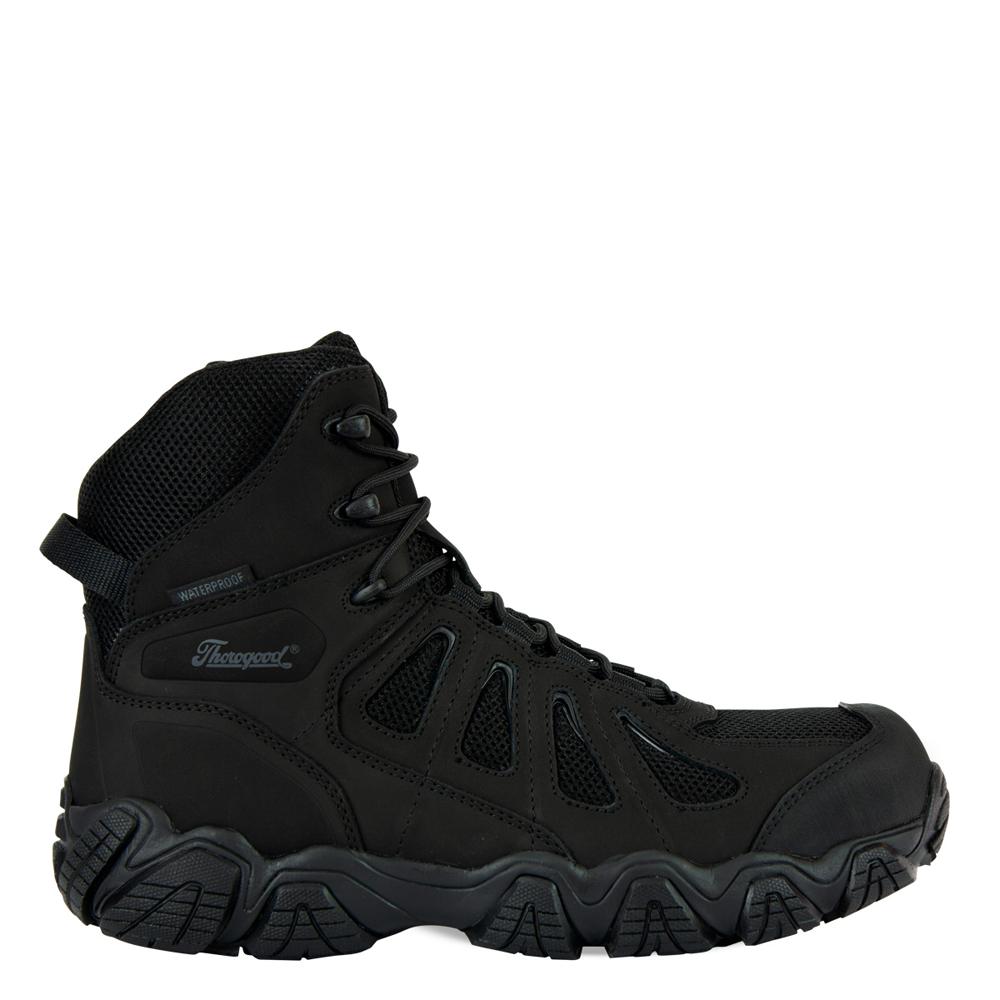Thorogood Crosstrex Series – Side Zip BBP Waterproof 8″ Hiker