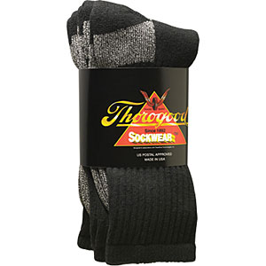 Thorogood 3-pack Postal Certified Socks with Coolmax