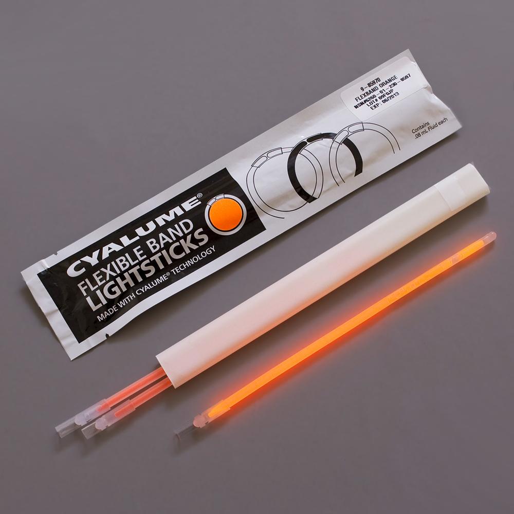 Cyalume Flex Bands Illuminating Emergency Marker, 4 Hour Duration