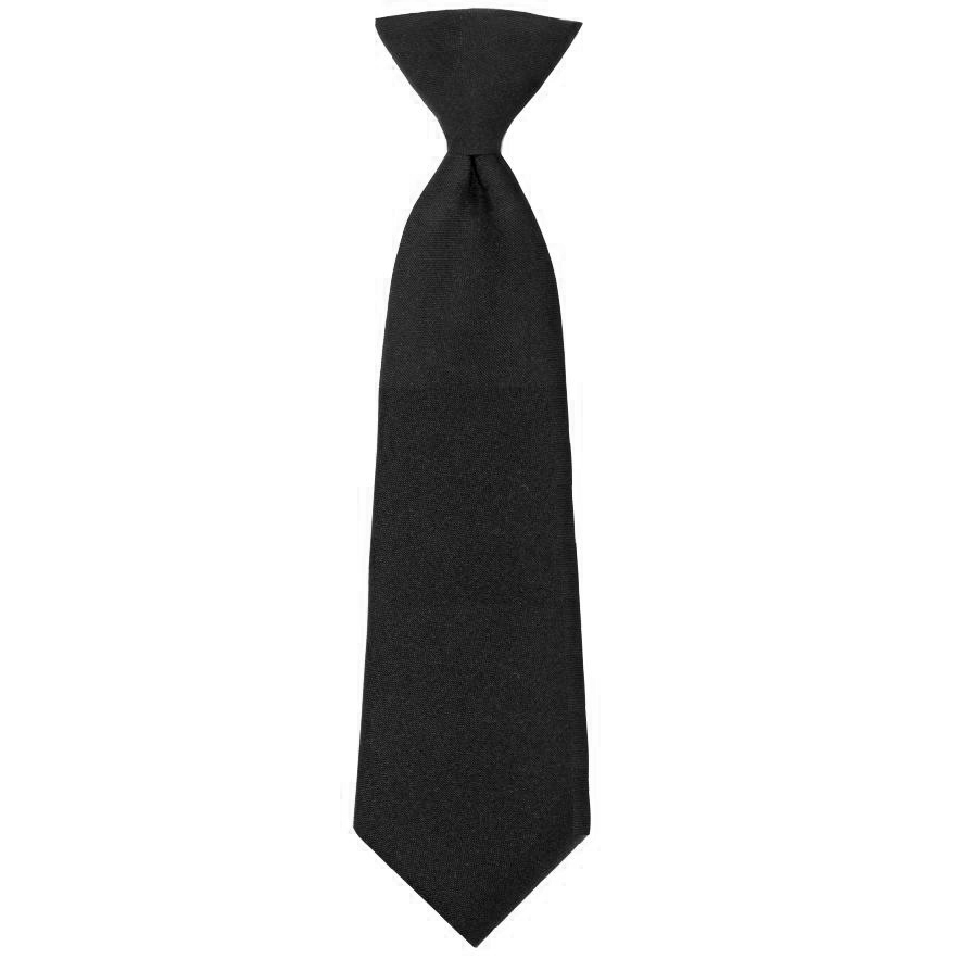 Samuel Broome: Polyester, Clip-On Tie