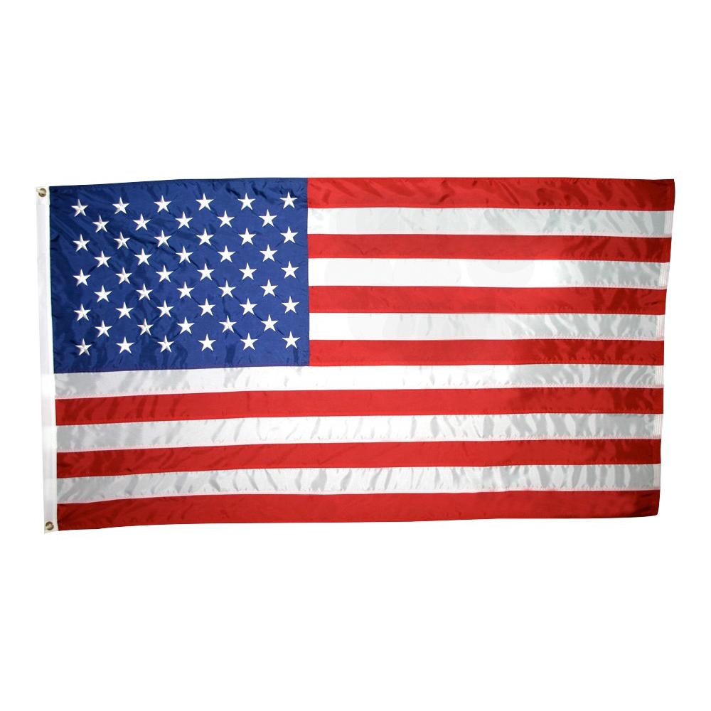 Annin Flagmakers Nyl-Glo Outdoor U.S. Flag, Colorfast