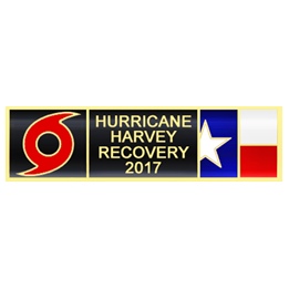 Blackinton Hurricane Harvey Commendation Bar