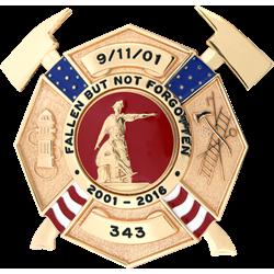 Blackinton 9-11 Maltese Cross Badge