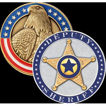 Blackinton Deputy Sheriff Challenge Coin