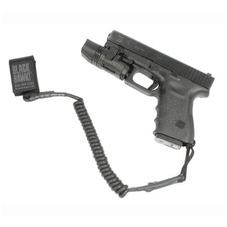 Blackhawk Tactical Pistol Lanyard, Black
