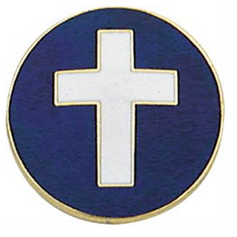 Smith & Warren Chaplain Collar Insignia, 15/16