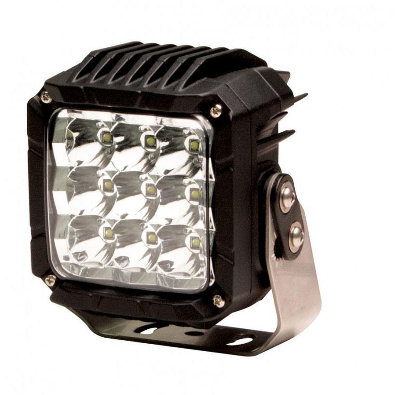 Code 3 9 LED Worklamp, 12-24v