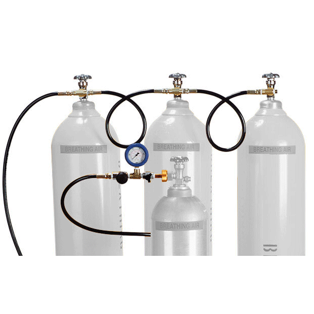Air Systems Cascade Cylinder Fill Assembly (Cylinders Not Included)
